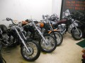 THREE STARS motor cycle
