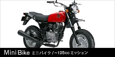 ミニバイク(~125cc MT)