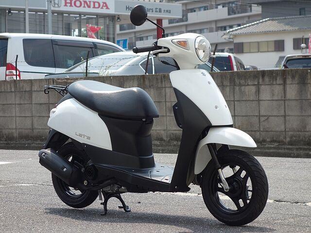 レッツ(4サイクル) 2015年モデル 新車卸しワンオーナー車 リアタイヤ新品です! 安心の中古車保…