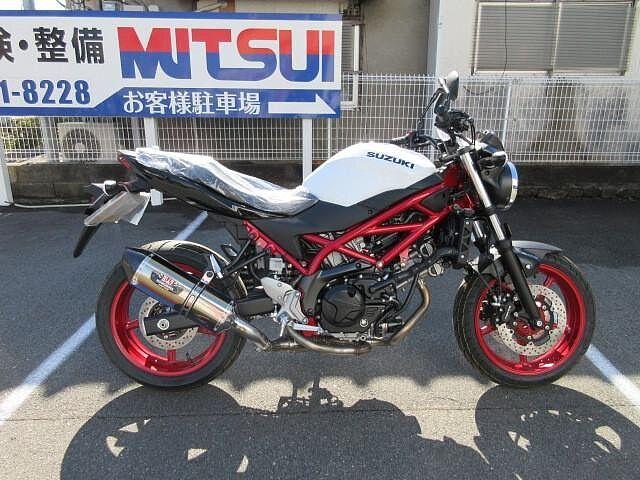 SV650 ABS ヨシムラチタンマフラー