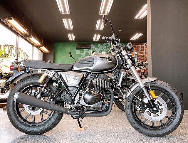 Legend 250TwinII 本国タイからやってきたストリート&スポーティーバイクメーカー!