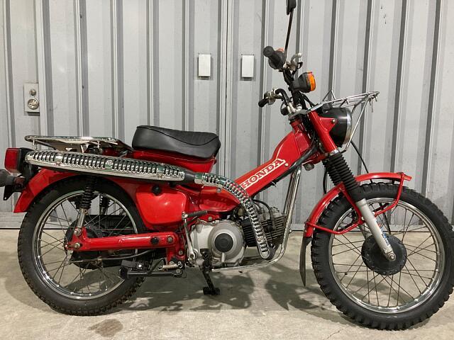 ハンターカブCT110 スーパーロー・トレッキングバイク