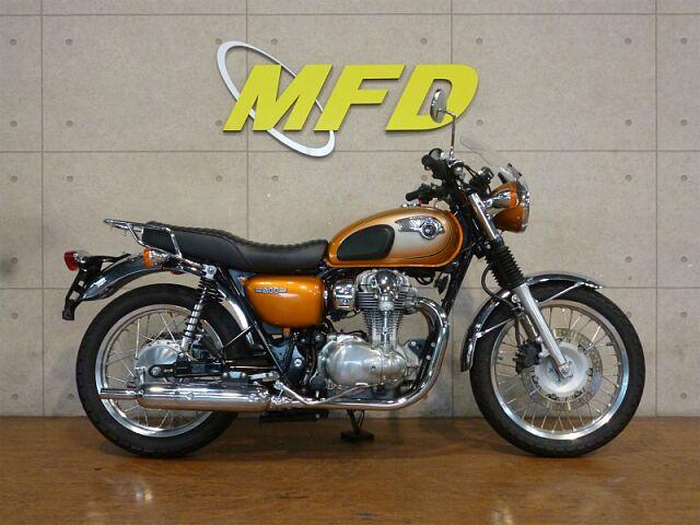 W800 王道クラシックバイク!W800!