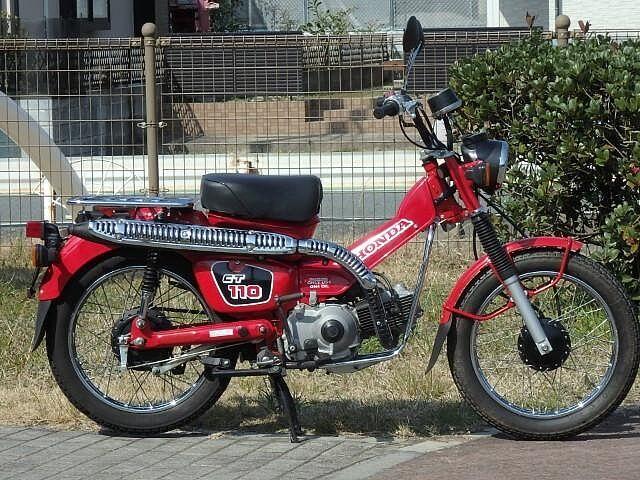 ハンターカブCT110