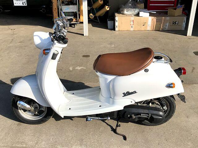 ビーノ(2サイクル) ビーノ50 2サイクル ホワイト 美車!