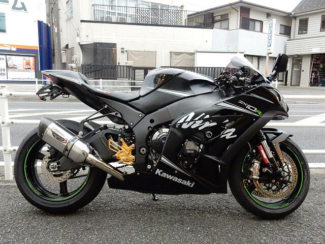 ZX-10R ABS Winter Test Edition!