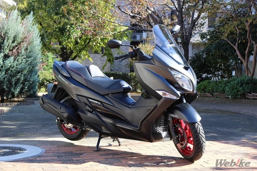 【スズキ バーグマン400 試乗インプレ】高級感溢れるビッグスクーターを欲しい人にオススメ!