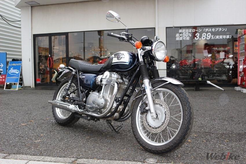 【カワサキ W800 試乗インプレ】クラシカルスタイルの渋さの中にも光る上質感