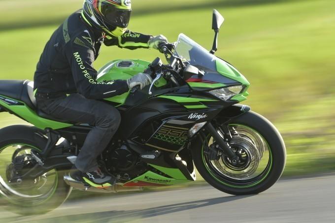 【ニンジャ650 試乗インプレ】パラレルツインの 素性の良よさが光る!ビッグバイクデビューにちょうどいいNinja!